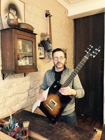 luthier Jean Villa à Préfailles